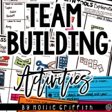 Back to School Team Building Activities FREEBIE