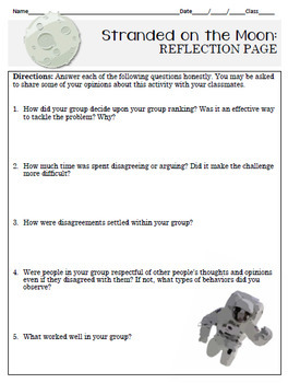 Team Building Activities: Survival and Group Communication (Space)
