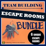 ⭐NO PREP Team Building Activity, Team Building Escape Room BUNDLE⭐