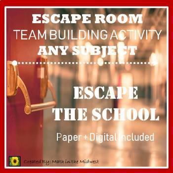 ⭐NO PREP Team Building Activity, Team Building Escape Room BUNDLE⭐