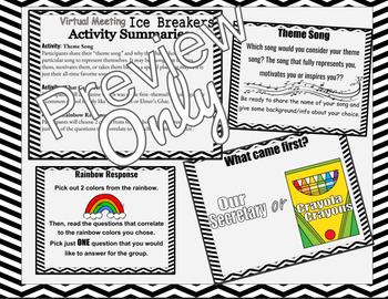 Team Building Activities for Teachers, FREE Sample Set