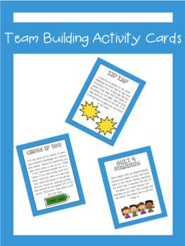 Team Building Activity Cards | LCI Movement