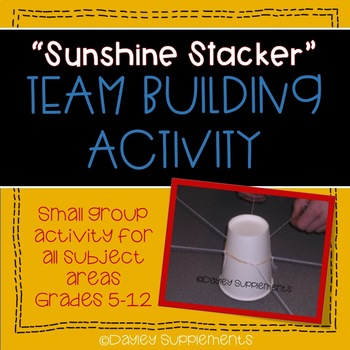 Team Building Activity - Cup Stacking - Project Based Learning Object Lesson