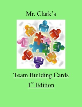 Physical Education Team Building Cards