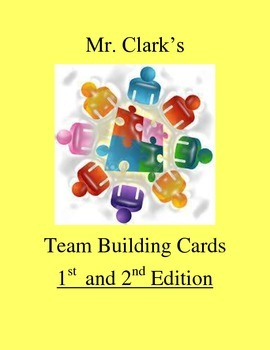 Physical Education Team Building Cards Full Edition