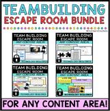 Team Building Digital Escape Room BUNDLE, back to school