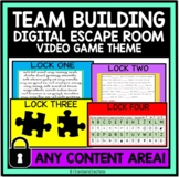Team Building Digital Escape Room (Video Game Themed) Dist