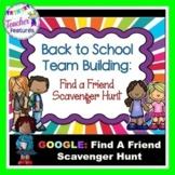 Google Classroom Activities BACK TO SCHOOL SCAVENGER HUNT