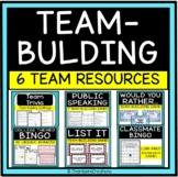 Team Building Games BUNDLE, (theatre, speech, avid)