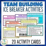 Team Building Ice-Breaker Activities