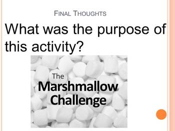 Team Building: Marshmallow Game Challenge
