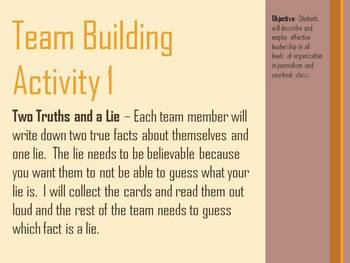 Team Building PowerPoint and Activities