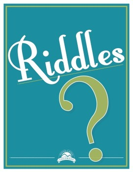Team Building Riddles 1 {Editable}