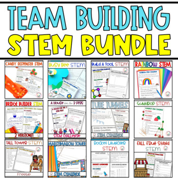 Team Building STEM Activities - GROWING Bundle