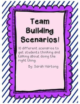 Team Building Scenarios