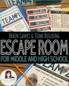 Team Building and Brain Games Escape Room