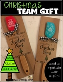 Christmas Tag  (Add a pen or spatula) for Friend, Teammate