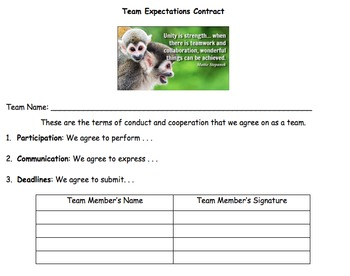 Team Contract