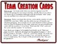 Team Creation Cards (Class Up To 24 Students)