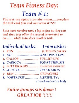 Physical Education - Team Fitness