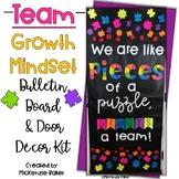 Team Growth Mindset Door and Bulletin Board Decor Kit