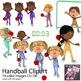 Team Handball Sport Clip Art for PE - European Handball