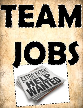 Team Job Posters