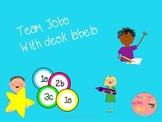 Team Jobs: Desk Labels and Job Descriptions