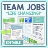 Team Jobs - Editable
