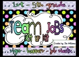 Team Jobs Set Up Kit for Grades 1-5