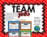 Team Jobs Template