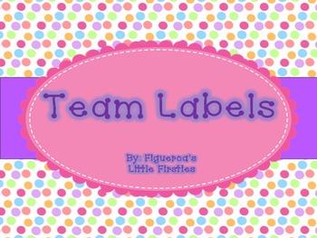 Team Labels