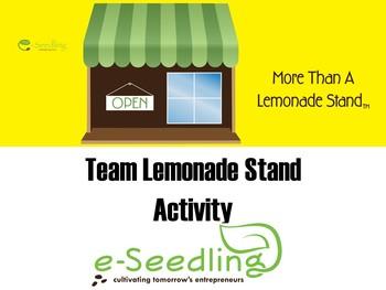 Team Lemonade Stand Activity