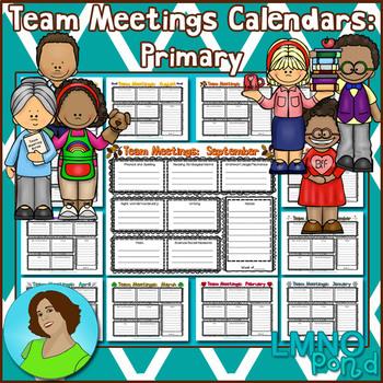 Team Meetings Calendar (Primary)