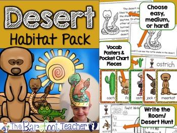 Habitats - 4 Habitat Packs: Polar, Desert, Ocean, & Australian