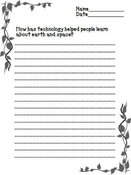 Team Moon Journeys 6th Grade Unit 3 Lesson 15 Activities and Printables