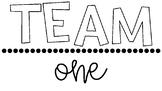 Team Number Labels