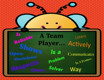 Team Player Poster