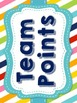 Team Points Classroom Management System {Stripes and Dots}