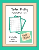 Team Relay - Multiplication Facts
