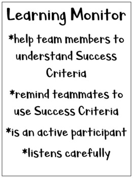 Team Roles/Teaming Cards
