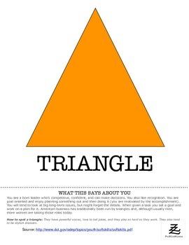 Team Skills: Personality Shapes Mini-Posters