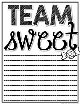 Team Sour vs. Team Sweet! An Opinion Writing Activity!