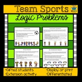 Team Sports Logic Problems