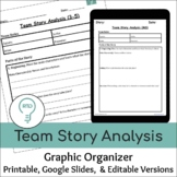 Team Story Analysis (Graphic Organizers for Upper Elementa