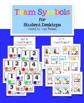 Team Symbol Cards for Student Desktops