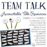 Team Talk: Accountable Talk Resources