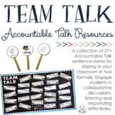Team Talk: Accountable Talk Resources