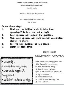 Team Talk Question - Thunder Cakes