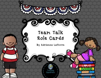 Team Talk Role Cards
